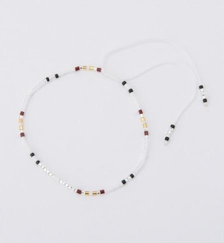【ビームス ウィメン/BEAMS WOMEN】 MATSUNO GLASS BEADS / ビーズ アンクレット [3000円(税込)以上で送料無料]
