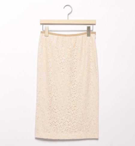 【ビームス ウィメン/BEAMS WOMEN】 レースタイトスカート [送料無料]