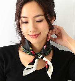 【ビームス ウィメン/BEAMS WOMEN】 【カタログ掲載】シルク花柄スカーフ [送料無料]