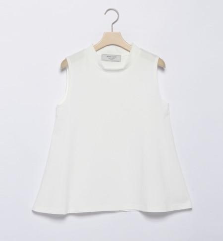 【ビームス ウィメン/BEAMS WOMEN】 ハイネックフレアー ノースリーブTシャツ [送料無料]