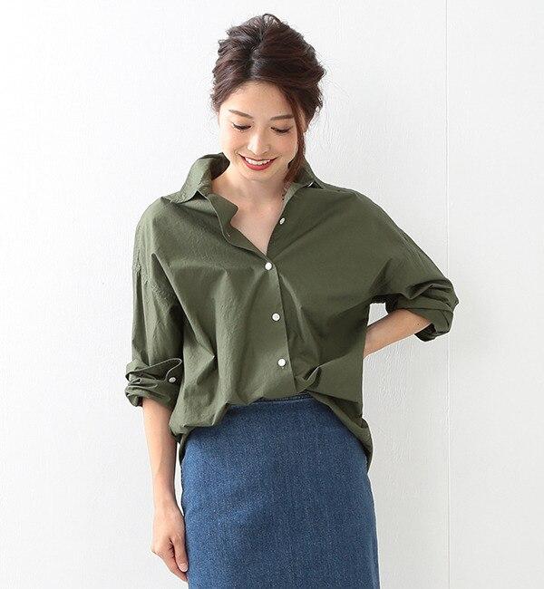 【ビームス ウィメン/BEAMS WOMEN】 コットン オーバーシャツ [送料無料]
