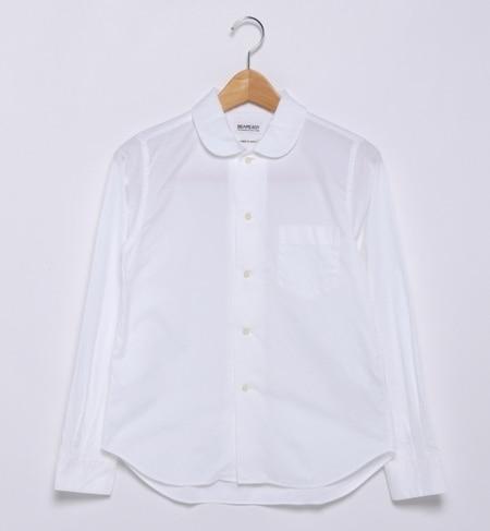 【ビームス ウィメン/BEAMS WOMEN】 ピンオックスフォード ラウンドカラーシャツ [送料無料]