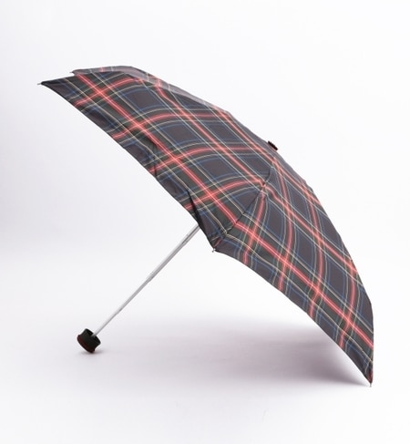 【ビームス ウィメン/BEAMS WOMEN】 HUS. / SMART MINI チェック柄 折りたたみ傘 [3000円(税込)以上で送料無料]
