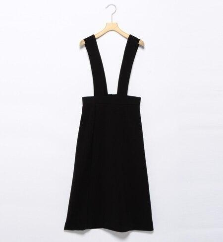 【ビームス ウィメン/BEAMS WOMEN】 ラップ風サロペットスカート [送料無料]