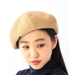 【ビームス ウィメン/BEAMS WOMEN】 コーデュロイ BIG ベレー帽 [3000円(税込)以上で送料無料]