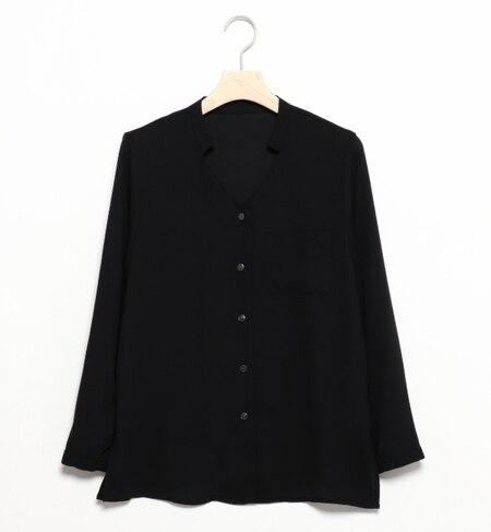 【ビームス ウィメン/BEAMS WOMEN】 ポケット付 スキッパー シャツ [送料無料]