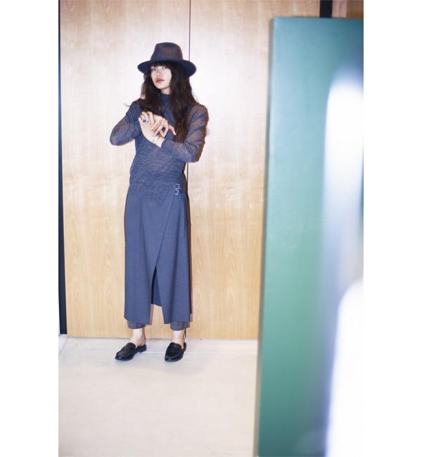 【ビームス ウィメン/BEAMS WOMEN】 RBS / ラップ スカート レイヤー パンツ [送料無料]