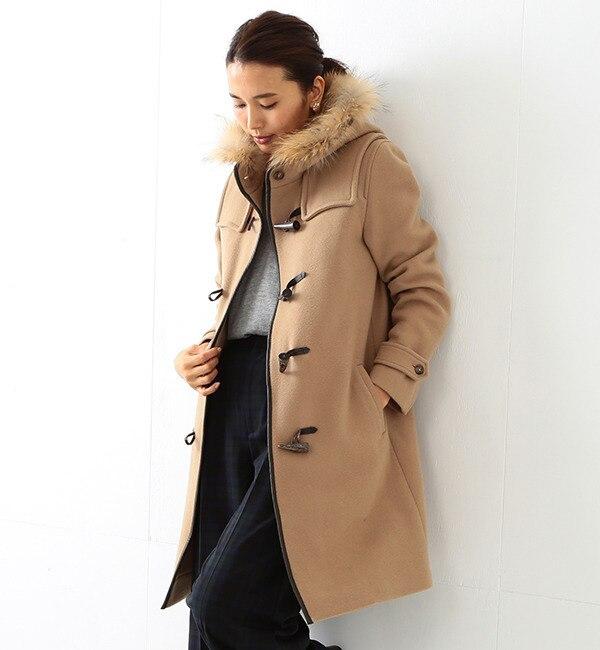 【ビームス ウィメン/BEAMS WOMEN】 FIASCHI ロング ダッフルコート [送料無料]