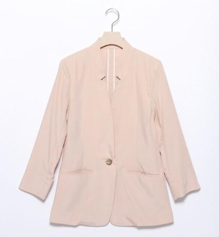 【ビームス ウィメン/BEAMS WOMEN】 ノーカラージャケット [送料無料]