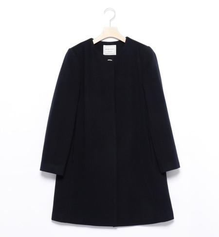 【ビームス ウィメン/BEAMS WOMEN】 ウールノーカラー コート [送料無料]