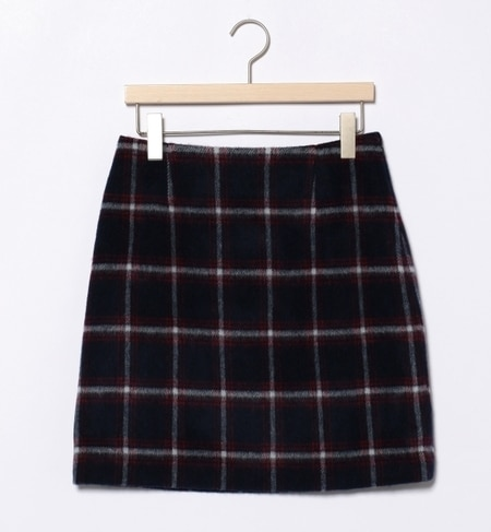 【ビームス ウィメン/BEAMS WOMEN】 ウールチェック スカート [送料無料]