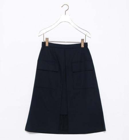 【ビームス ウィメン/BEAMS WOMEN】 フラップ ポケット Aライン スカート [送料無料]