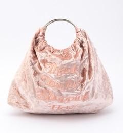 【ビームス ウィメン/BEAMS WOMEN】 Casselini / 刺繍 ベルベット バッグ [送料無料]