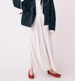 【ビームス ウィメン/BEAMS WOMEN】 サテン マキシ スカーチョ [送料無料]