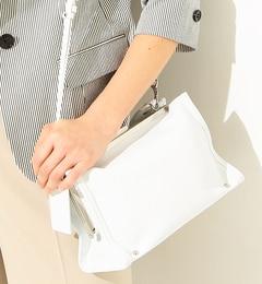 【ビームスウィメン/BEAMSWOMEN】POTIOR/CORINNEミニシボショルダーバッグ[送料無料]