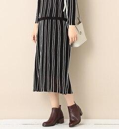 【ビームス ウィメン/BEAMS WOMEN】 ストライプ ニットスカート [送料無料]