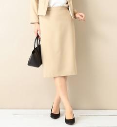 【ビームスウィメン/BEAMSWOMEN】ツイルタイトスカート[送料無料]
