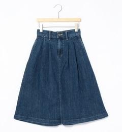 【ビームス ウィメン/BEAMS WOMEN】 Lee / タックデニムスカート [送料無料]