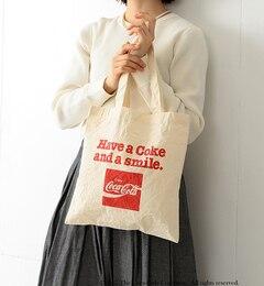 【ビームスウィメン/BEAMSWOMEN】Coca-Cola&FruitofTheLoombyBEAMSBOY/トートバッグ[送料無料]