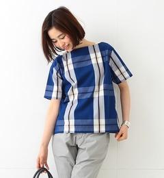 【ビームスウィメン/BEAMSWOMEN】ビッグタータンチェックバスクシャツ17S[送料無料]