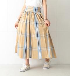 【ビームス ウィメン/BEAMS WOMEN】 ビッグタータンチェック スカート 17S [送料無料]