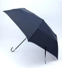 【ビームス ウィメン/BEAMS WOMEN】 BECAUSE / パイピング 折りたたみ傘 [3000円(税込)以上で送料無料]