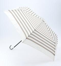 【ビームス ウィメン/BEAMS WOMEN】 BECAUSE / ボーダー 折りたたみ傘 [3000円(税込)以上で送料無料]