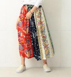 【ビームス ウィメン/BEAMS WOMEN】 SUN SURF×BEAMS BOY / ハワイアン クレイジー スカート [送料無料]