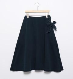 【ビームスウィメン/BEAMSWOMEN】アイレットフレアスカート[送料無料]