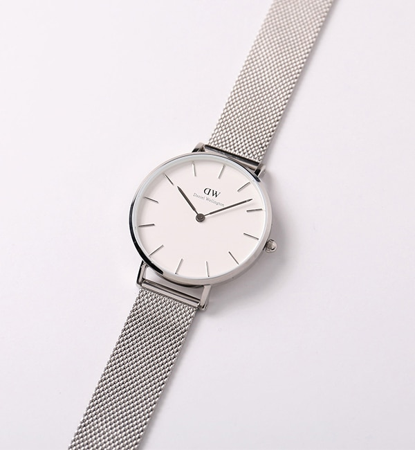 DANIEL WELLINGTON / CLASSIC PETITE 32mm シルバー【ビームス ウィメン/BEAMS WOMEN レディス 腕時計 WHITE ルミネ LUMINE】