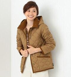 【ビームス ウィメン/BEAMS WOMEN】 【予約】Traditional Weatherwear / 別注 Wavelry フードショートブルゾン [送料無料]