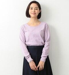 【ビームス ウィメン/BEAMS WOMEN】 パターン メッシュ クルーネック [送料無料]