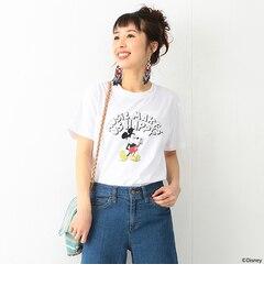 【ビームス ウィメン/BEAMS WOMEN】 【予約】FUJI ROCK FESTIVAL'17 × Ray BEAMS / Yusuke Hanai Tee ミッキーマウス Let It Rock Tシャツ [送料無料]