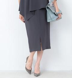 【ビームス ウィメン/BEAMS WOMEN】 トリアセテート スリットタイトスカート [送料無料]