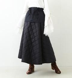 【ビームス ウィメン/BEAMS WOMEN】 【予約】RBS / キルト レイヤード スカート [送料無料]