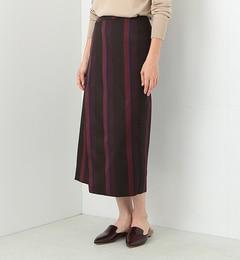 【ビームス ウィメン/BEAMS WOMEN】 【予約】マルチストライプスカート [送料無料]
