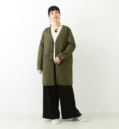 【ビームス ウィメン/BEAMS WOMEN】 ORCIVAL / キルティング コート [送料無料]
