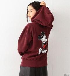 【ビームス ウィメン/BEAMS WOMEN】 【予約】Champion / 別注 バック ミッキーマウス パーカ Disney(ディズニー) [送料無料]