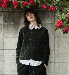 【ビームス ウィメン/BEAMS WOMEN】 別珍 ナポレオン ジャケット [送料無料]