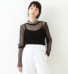 【ビームス ウィメン/BEAMS WOMEN】 メッシュ クルーネック Tシャツ [送料無料]