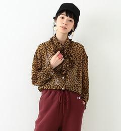 【ビームス ウィメン/BEAMS WOMEN】 シフォン フリル ボウタイ ブラウス [送料無料]