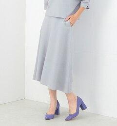 【ビームス ウィメン/BEAMS WOMEN】 【ヴィジュアルブック掲載】圧縮ウール フレアスカート [送料無料]