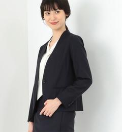 【ビームス ウィメン/BEAMS WOMEN】 シャドーストライプ Vネックジャケット [送料無料]