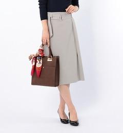 【ビームス ウィメン/BEAMS WOMEN】 ドライオックス ベルト付きスカート [送料無料]