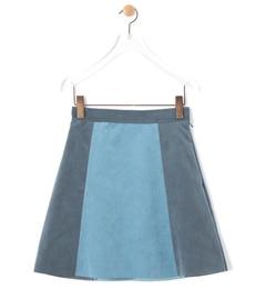 【ビームス ウィメン/BEAMS WOMEN】 フェイク スエード バイカラー ミニスカート [送料無料]