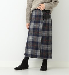 【ビームス ウィメン/BEAMS WOMEN】 ハリスツイード キルトスカート [送料無料]