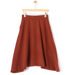 【ビームス ウィメン/BEAMS WOMEN】 ウールビーバーアシメフレアースカート [送料無料]