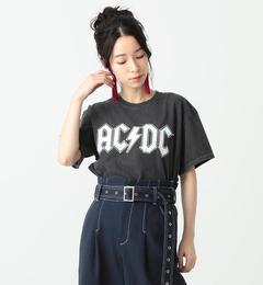 【ビームス ウィメン/BEAMS WOMEN】 GOOD SPEED / White Logo ACDC Tシャツ [送料無料]