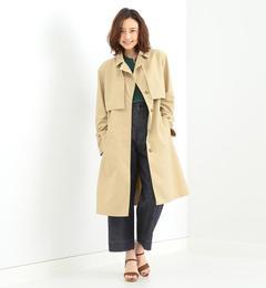 【ビームス ウィメン/BEAMS WOMEN】 Traditional Weatherwear / SAVOY エステルトレンチコート [送料無料]