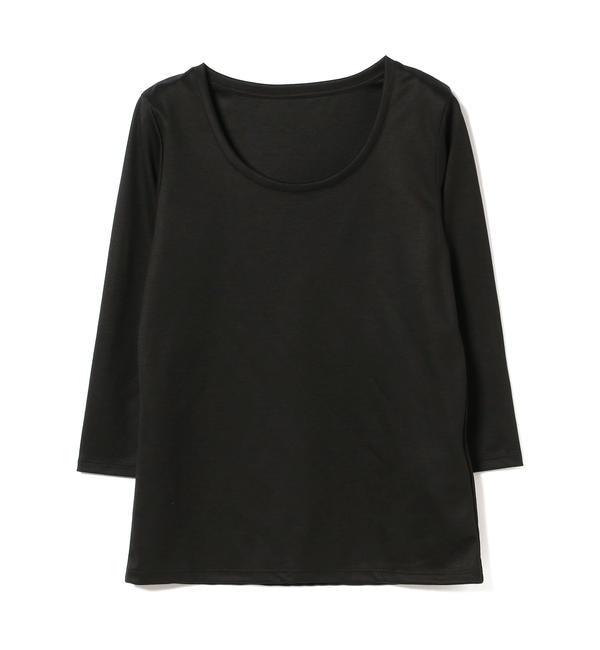 【ビームス ウィメン/BEAMS WOMEN】 Demi-Luxe BEAMS / テンセル ベーシック 7分袖シャツ's image